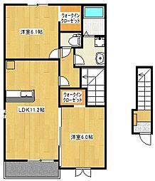 メゾン・TKA[2階]の間取り