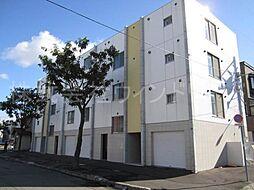 北海道札幌市北区北二十六条西3丁目の賃貸マンションの外観