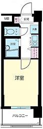 東京都品川区平塚2丁目の賃貸マンションの間取り