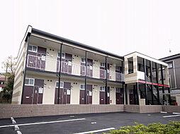 大阪府茨木市南春日丘2丁目の賃貸アパートの外観