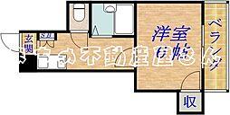 クローバーマンション[3階]の間取り