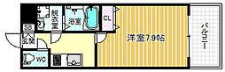 W.O.B.UMEDA[10階]の間取り