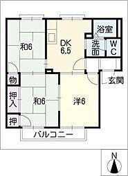 サンクレスト昭和[2階]の間取り