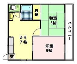 アピアTADOKORO[1階]の間取り