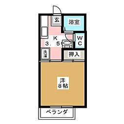 サンシティ扇寿[2階]の間取り