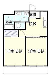 百合ヶ丘ステーションテラス[5階]の間取り