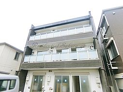 神奈川県藤沢市片瀬3丁目の賃貸マンションの外観
