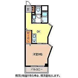 ルート南向B棟[1階]の間取り