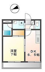 静岡県静岡市葵区西門町の賃貸マンションの間取り