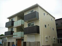 大阪府茨木市豊川5丁目の賃貸アパートの外観