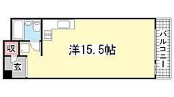 花隈ダイヤハイツ[9階]の間取り