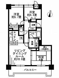 ロイヤルヒルズ東戸塚[3階]の間取り