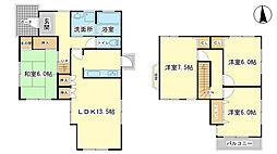 [一戸建] 兵庫県姫路市辻井7丁目 の賃貸【/】の間取り