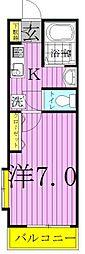 Casa Mia〜カーサミア〜[103号室]の間取り