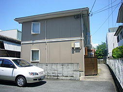 大阪府箕面市稲2丁目の賃貸アパートの外観
