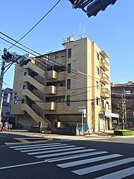 東京都足立区栗原3丁目の賃貸マンションの外観