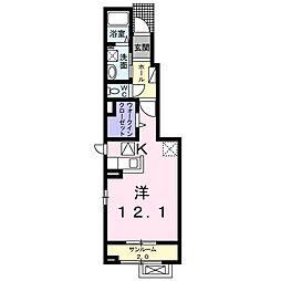 福町アパート[0106号室]の間取り