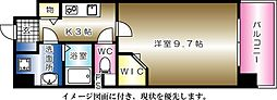 コンフォート東白島--[203号室]の間取り