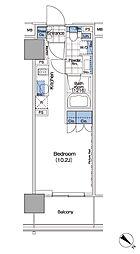 パークハビオ赤坂タワー[1503号室]の間取り