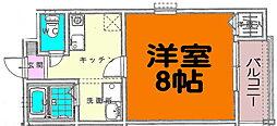 プレステージ藤塚[2階]の間取り
