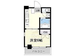 FULL HOUSE YAGOTO[6階]の間取り