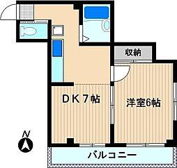 プラネット24[2階]の間取り