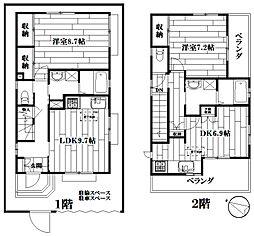 [一戸建] 東京都豊島区東池袋2丁目 の賃貸【/】の間取り