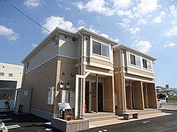 愛媛県松山市東石井1丁目の賃貸アパートの外観