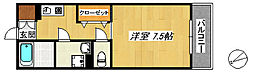 コート石津川[208号室]の間取り