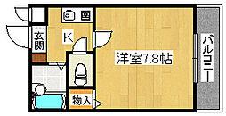 ソアーヴェ堺東[1階]の間取り