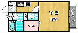 リバービューHIRAKATA[2階]の間取り