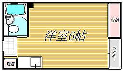 東京都西東京市富士町3丁目の賃貸マンションの間取り