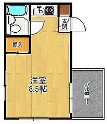 ニューハーモニーセンタービル[5階]の間取り