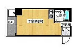 ポートハイム第五吉野町[3階]の間取り