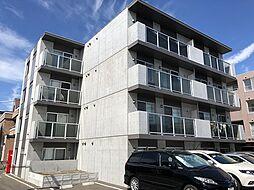 北海道札幌市東区北33条東10丁目の賃貸マンションの外観