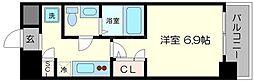 セレニテ福島シェルト[12階]の間取り