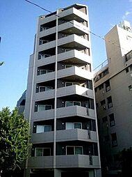 東京都新宿区戸山3丁目の賃貸マンションの外観