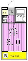 ジュネパレス松戸第92[102号室]の間取り