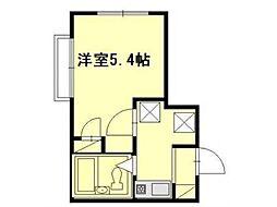 キャピタルビル[4階]の間取り