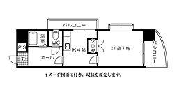 第2リヴェール香川--[501号室]の間取り