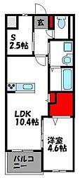 仮)アヴァンセ志免町 5階1SLDKの間取り