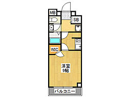 マスターズ・レジデンス桜川II[5階]の間取り