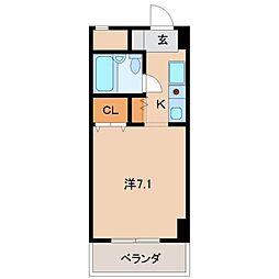 シェトワ城東[7階]の間取り