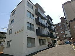 北海道札幌市白石区栄通5丁目の賃貸マンションの外観