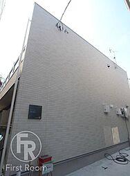 東京都大田区大森南2丁目の賃貸アパートの外観