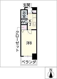 CK錦レジデンス[9階]の間取り