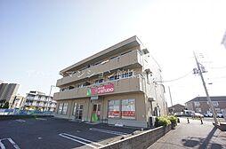 茨城県つくばみらい市陽光台4丁目の賃貸アパートの外観
