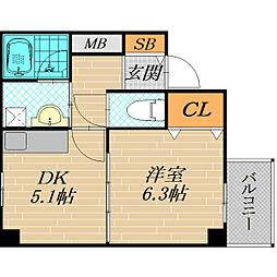 ARM21[4階]の間取り
