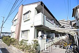 愛知県豊田市京ケ峰1丁目の賃貸アパートの外観