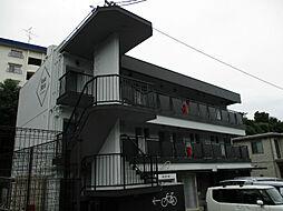 愛知県名古屋市千種区東明町2丁目の賃貸アパートの外観